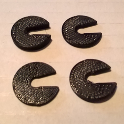 CR10-S5-Shims.png Download free STL file Creality CR10-S5 Buildplate Shim / Spring Compressor • 3D print template, crzldesign