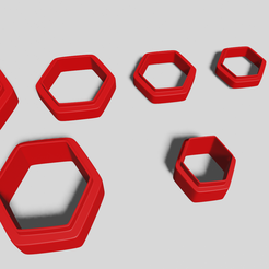 untitled.png Download STL file polymer clay cutters - geometric shapes • 3D printing design, CristinaUY