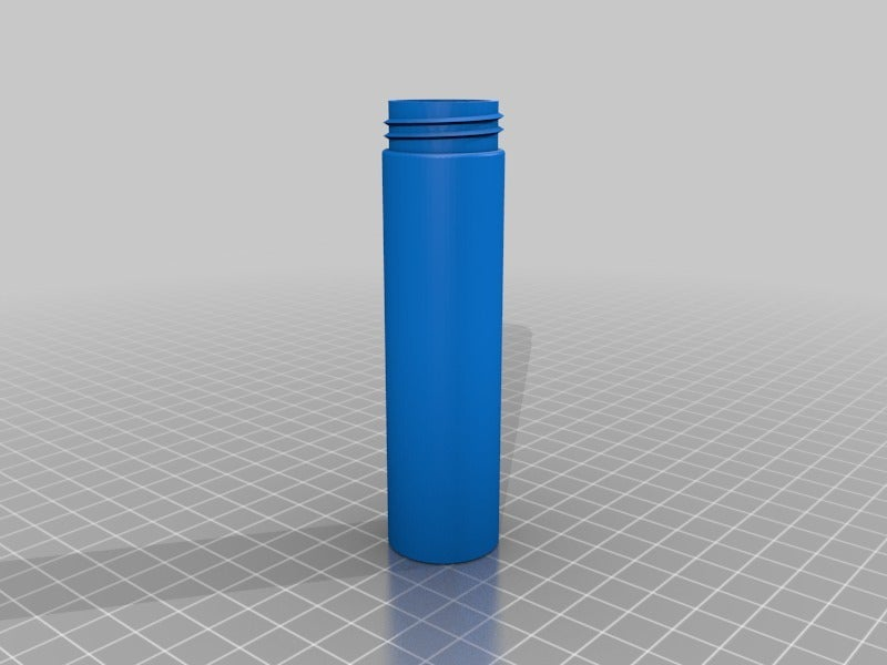 container_text.png Download free STL file Geocache Container - Pole Cap • 3D printer template, willie42
