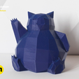 pokemon-low-poly013.png Download file Low Poly Pokemon Collection 151 • 3D printable object, 3D-mon