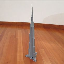 621c058a1feb0926ef6352a062ccabb6_preview_featured.JPG Download STL file Burj Khalifa • 3D printable model, Chrisibub