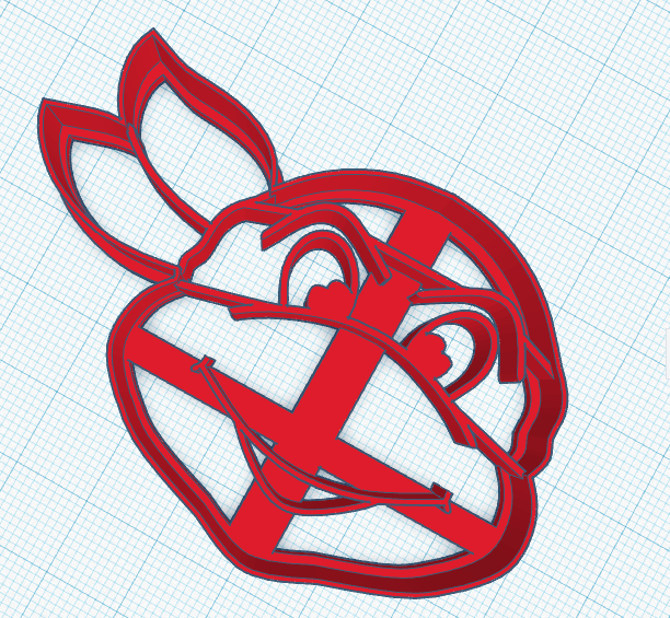 turtle ninja cookie cutter.png Download free STL file Teen Ninja Turtles Cookie Cutter • 3D printer object, NicoDLC
