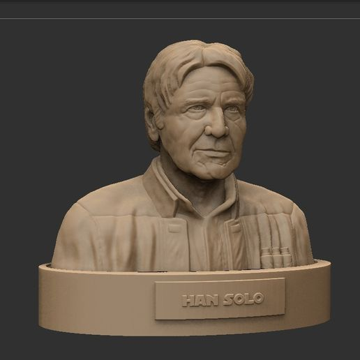 05.jpg Download STL file HAN SOLO • 3D printing template, thierry3D