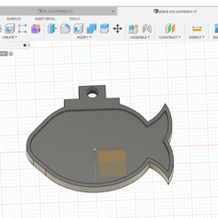 placa gato sombrero 2.png Download free STL file plate cat fish with hat • 3D printer model, felipevasquezgamboa