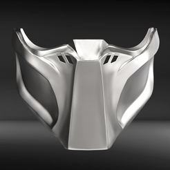 pt.10.png Download STL file Predator Mask Fan Art • 3D printing object, seberdra