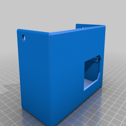 A10_Generic_Power_Supply_Cover.png Download free STL file A10 Generic Power Supply Cover. • Template to 3D print, Macflame
