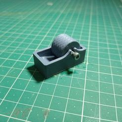 IMG_20210217_170858.jpg Download free STL file Leather Edge Paint Roller for m3 • Design to 3D print, LalinOwl
