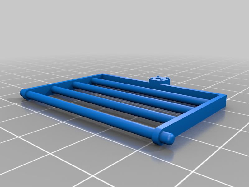 Cube_cage_door.png Download free STL file Cube cage collection 2 for tabletop games • 3D printing template, Boubamazing