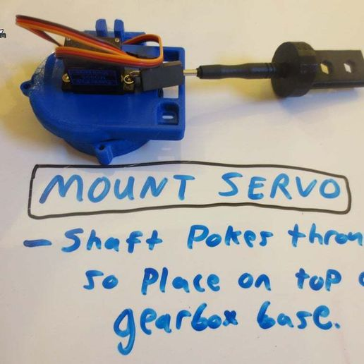 IMG_7435.JPG Download free STL file Rack & Pinion Linear Actuator Servo Joint Module *Tiny_CNC_Collection • Model to 3D print, mechengineermike