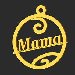 Mama.jpg Download STL file Mom • 3D printing object, merry3d