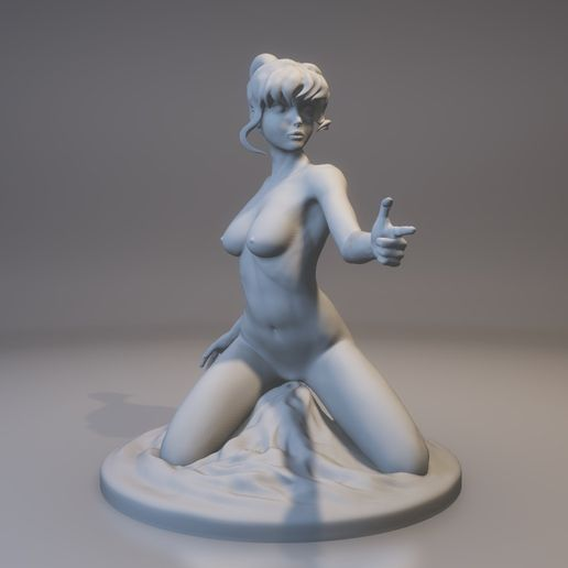 Greenshot20170731-004024.jpg Download STL file Manga Girl • Template to 3D print, MWopus