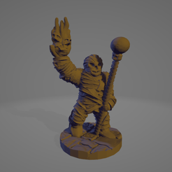 Mummy Sorceror.png Download STL file Mummy Sorcerer • 3D printing model, Ellie_Valkyrie
