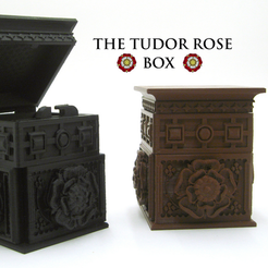 Capture_d__cran_2015-04-03___22.00.42.png Download free STL file The Tudor Rose Box (with secret lock) • Design to 3D print, loubie