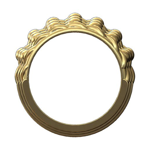 Keeper-ring-v2-03.JPG Download 3MF file Mirrored Double row keeper ring 3D print model • 3D print model, RachidSW