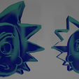 Screenshot (42).png Download free STL file Rick & Morty Cookie Cutters • Template to 3D print, nikkblandford22