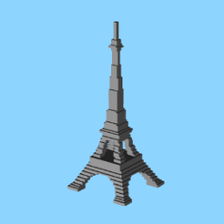 Tour_Eiffel.png Download free STL file Tour Eiffel • 3D print design, Chacha123