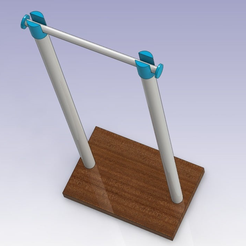 SPOOL_HOLDER_00.png Download free STL file YASH Yes Another Spool Holder • Template to 3D print, daGHIZmo