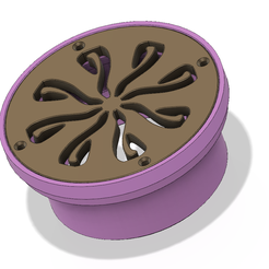 drains 4 inch simple vd31 v6-00.png Download OBJ file Floor simple Drain trap Round d102 4 inch odore block 3d print and cnc • 3D printable template, Dzusto