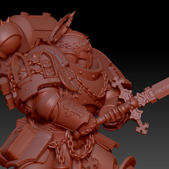 5.png Download STL file Decimus The Blade • Object to 3D print, oh_my_godable