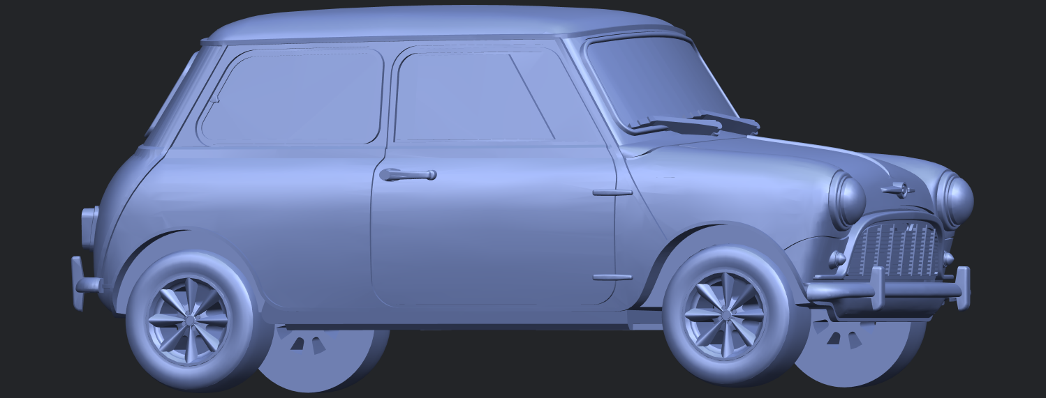 16_mini_168mm_for_staplesB07.png Download free STL file Morris Mini Minor Mark-1 • 3D print object, GeorgesNikkei