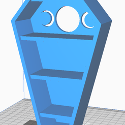 Main.PNG Download STL file Smaller single piece coffin (with lid!) • 3D print model, SpoogityWoogums