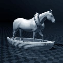 ae332330f229d7ff53a777c8e1346a7c_display_large.jpg Download free STL file Horse In A Boat • 3D printing design, FiveNights
