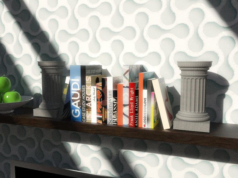Column_on_a_shelf_05.jpg Download free STL file Doric Pedestal Container • 3D printable object, Zippityboomba