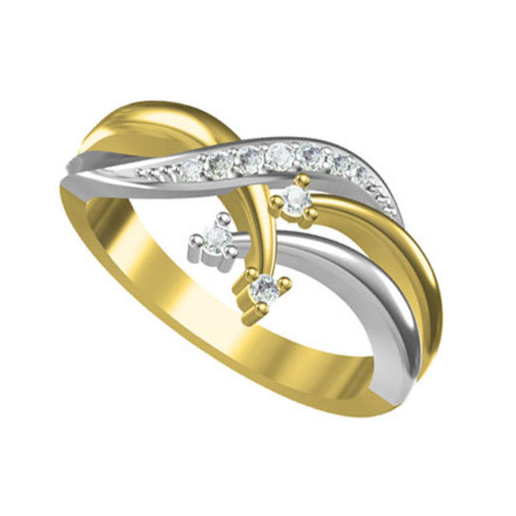 SB10847R.png Download free STL file 3D Jewelry CAD Model Of Beautiful Wedding Ring In JCD Format • 3D printable design, VR3D