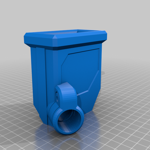 DMAG_MAGWELL_PUMP_M3.png Download free STL file DMAG Helix Adapter Maverick, Trracer pump paintball • 3D print template, UntangleART