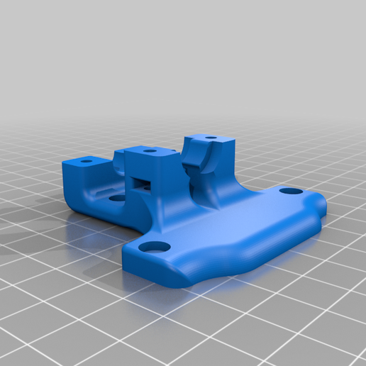 Base_plate_V2.png Download free STL file Thinker S dual blower hotend for stock and E3D V6 • Design to 3D print, madizmo
