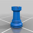 Rook_real_size.png Download free OBJ file Ajedrez • 3D printing object, Lubal