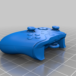 Xbox_Controller_by_Zevach98.png Download free STL file Xbox One Controller KeyChain • 3D printer template, Zevach98
