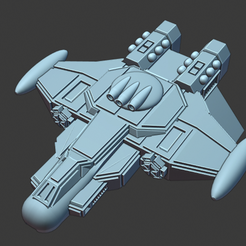 Nebulon-Patroller-Type-IV.png Download free STL file Full Thrust Starship Miniature  • Design to 3D print, Go0gleplex