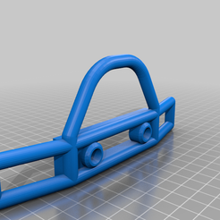 Bumper_14_160.png Download free STL file SCX10 (Clone) Tube Front Bumper LED Ready • 3D printable design, WrenchToDrive