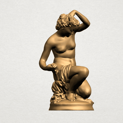 Naked Girl - Bathing01 - A01.png Télécharger fichier STL gratuit Naked Girl - Bathing01 • Objet pour impression 3D, GeorgesNikkei
