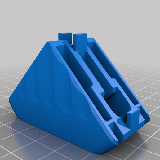 8020-1010-gusset-long.png Download free STL file Extruded Aluminum helpers • 3D printer object, genericbitbucket