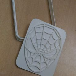 spider man cookie.jpg Download free STL file Spiderman Cookie cutter • 3D print model, AmineZed