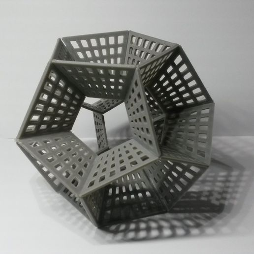 20170215_202151.jpg Download free STL file Dodecahedron Pencil Holder • 3D printing object, Chrisibub
