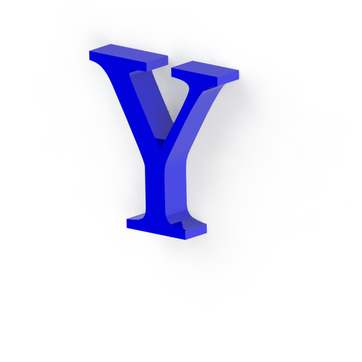 Y3.png Download free STL file Letras / abecedario completo • Object to 3D print, Lubal