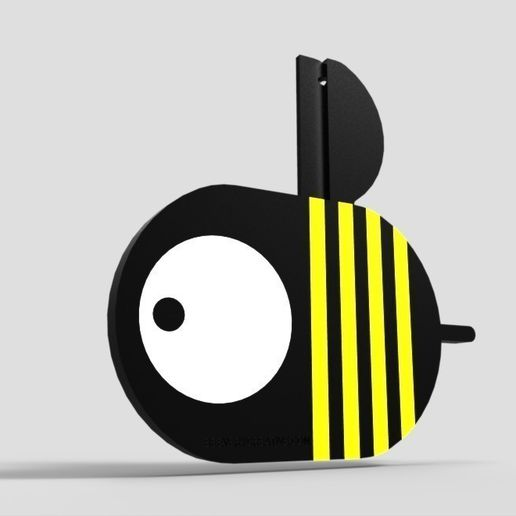D3_vitor.jpg Download free STL file BEE gift • 3D print template, BEEVERYCREATIVE