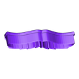 Moustache 3 Cookie Cutter.stl Download free STL file Moustache 3 Cookie Cutter • 3D printer design, 3DBuilder