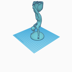 Stunning Maimu.png Download STL file Divine with rose • 3D printer object, jankitokarczew