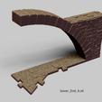 Sewer_End_A.png Download file PuzzleLock Sewers & Undercity • Design to 3D print, Zandoria
