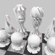 Video0090.png Download STL file Design chess set - The perfect gift for a good friend • 3D printable model, Rayjunx