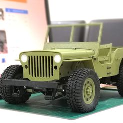 133pc_awesome_jeep_done.jpg Download free STL file Parts for 133% Ossum Jeep to fit RC 1/10 • 3D printable design, EdwardChew