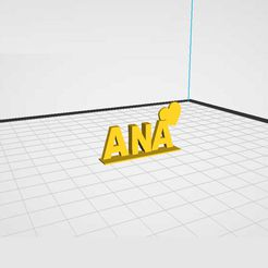 ANA1.jpg Download STL file NAME: ANA (HEART) • Object to 3D print, Z3D