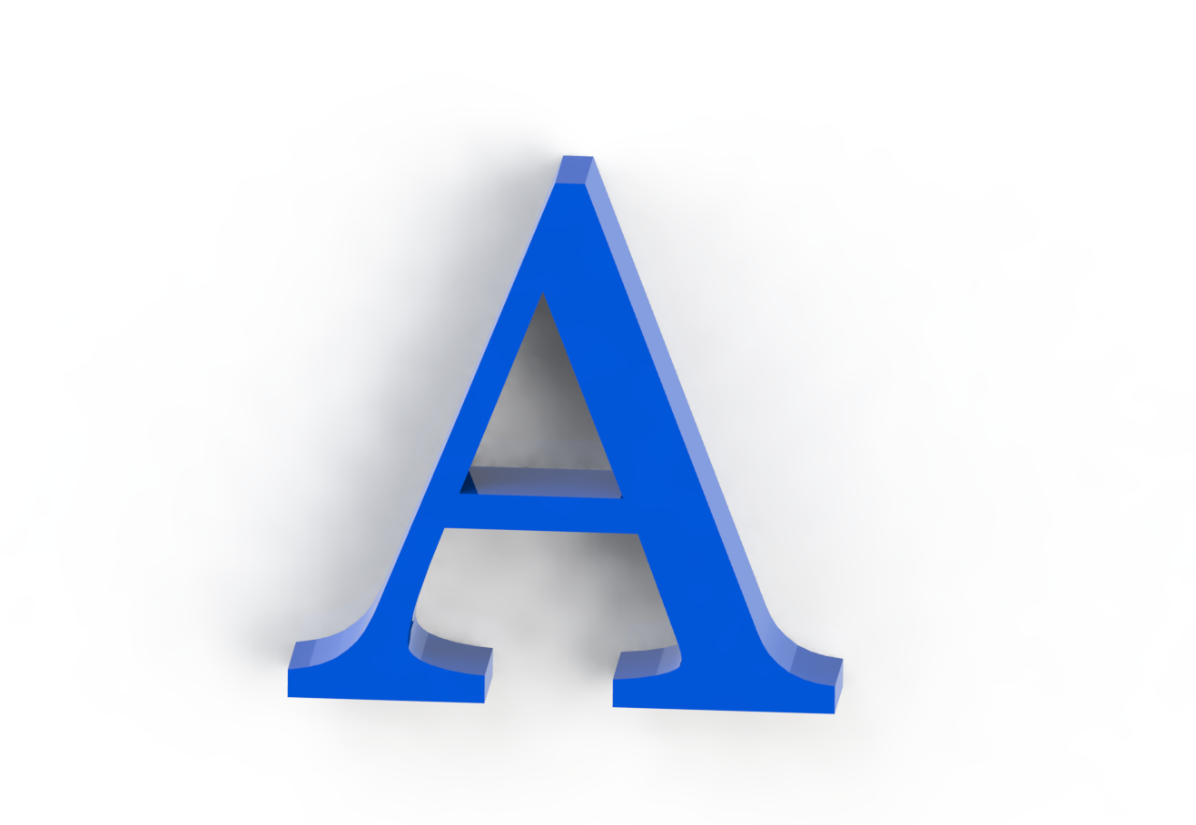 a3.png Download free STL file Letras / abecedario completo • Object to 3D print, Lubal