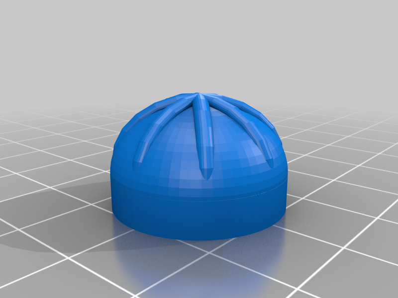 Knobby_PS4_10mm_Circular_Grip_Bold.png Download free STL file Knobby - Controller Stick Extension • 3D printing model, sensorback