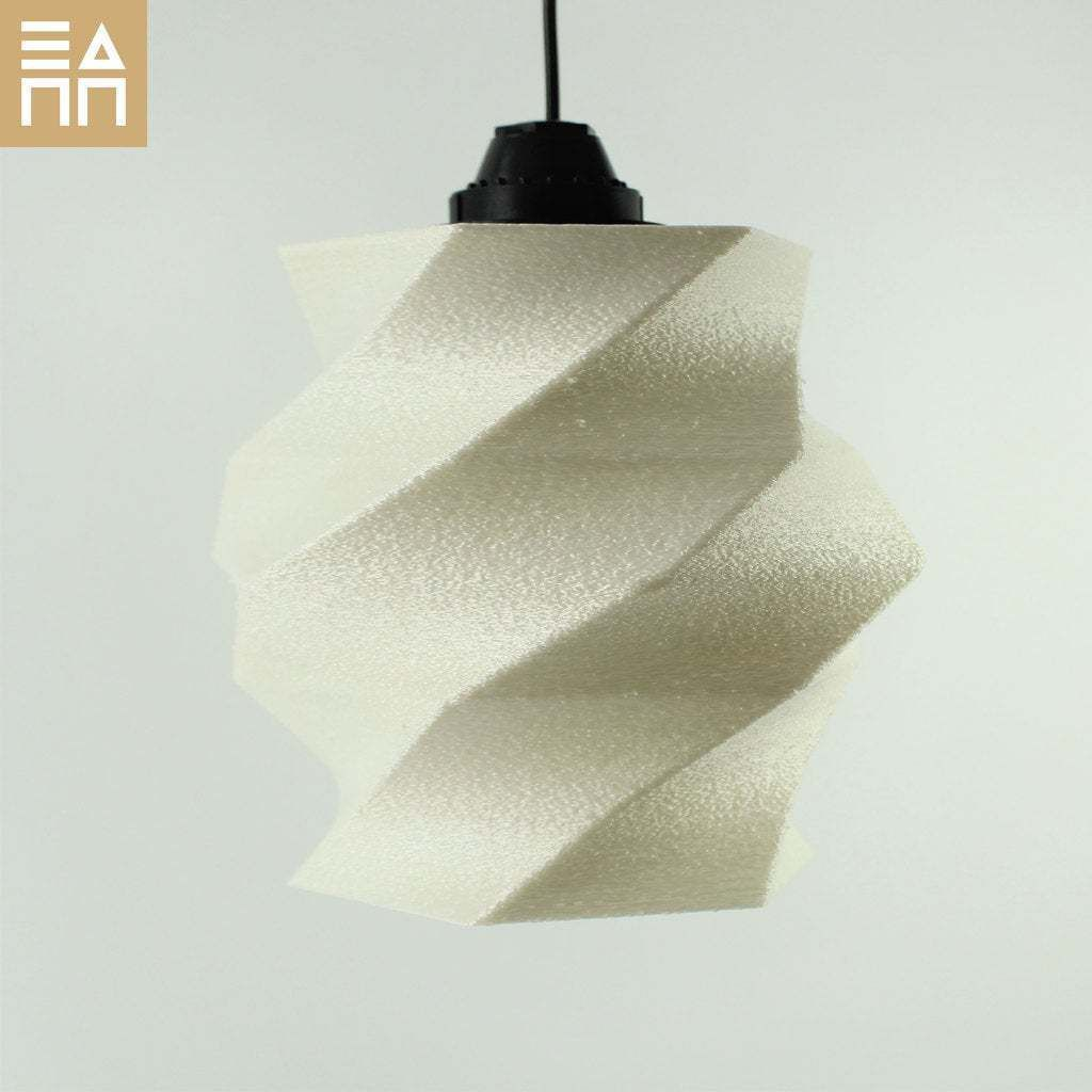 Front_Light_Off.jpg Download free STL file Flowing Lampshade • 3D printing object, 3DPrintProjectAthens