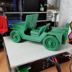 jeep.jpg Download free STL file Army Jeep • Design to 3D print, 3DPrintingOne